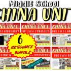 *** CHINA!!! 6-PART, Highly visual, engaging, thoughtful 9