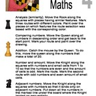 """ Chess and Maths "". Part 4"