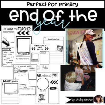 { End of the year fun pack } and memory book