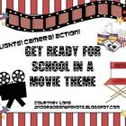 * MOVIE THEME CLASSROOM DECOR BUNDLE!! *