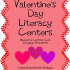 * Valentine&#039;s Day Literacy Centers *
