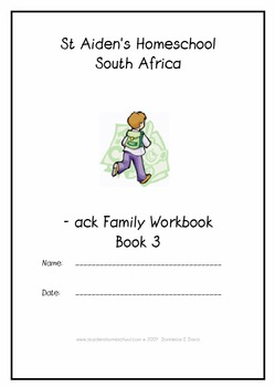 -ack Word Family Workbook