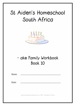 -ake Word Family Workbook