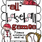 {-all} Baseball Games: 7 Literacy Activities to Teach Vari
