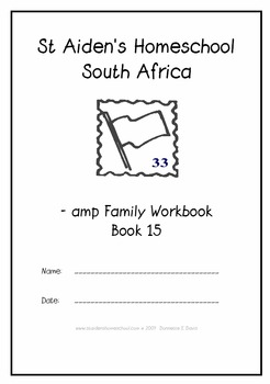 -amp Word Family Workbook