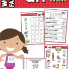 """-an"" Word Family unit - Games, Activities & Worksheets"