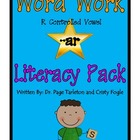 -ar (r Controlled Vowel) Literacy Station Word Work