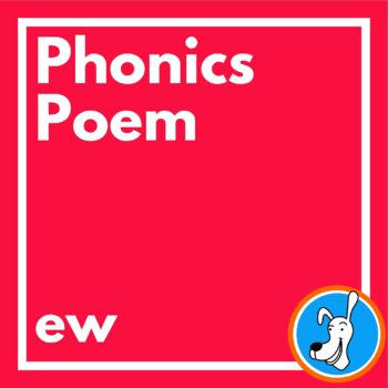Long u sound: /ew/ Bubble Gum Phonics Poem