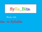 MAP Prep NWEA Reading -le Syllables SyllaBits Fluency Buil