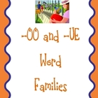 -oo and -ue Word Families