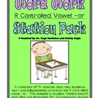 -or (r controlled vowel) Literacy Station Word Work