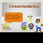 024 - ELA Characterization Grades 2 - 3