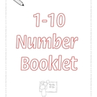 1-10 Numbers Printable Ebook - 21 pages