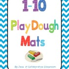1 - 10 Play dough mats