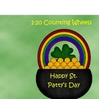 1-20 Counting Wheels for St. Paddy&#039;s Day