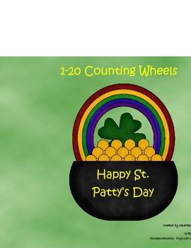 1-20 Counting Wheels for St. Paddy's Day