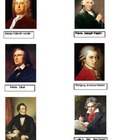 10 Composer Nomenclature Cards