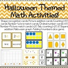 10 Halloween Themed Math Activities
