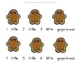10 Little Gingerbread Men Interactive Book - Printable