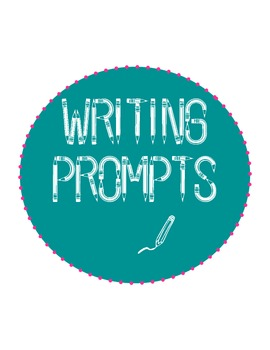 10 Writing Prompts with Handwriting Lines