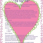 &quot;10 for 10&quot; Student Incentive Plan