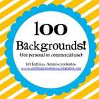 100 Backgrounds for Personal or Commercial Use
