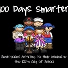 100 Days Smarter - 100th day of School Smartboard Pack - P