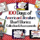 100 Days of American Literature Short Stories Collection &