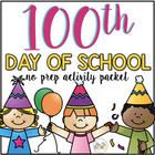 100 Days of School Activity Packet