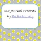 110 Journal Prompts