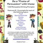 100 Persuasive Writing Prompts