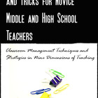 100 Practical Tips and Tricks for Middle and High School Teachers