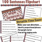 100 Sentences Flipchart for Promethean Activboard