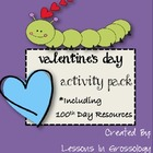 100 Valentines: Activity Pack for Valentine's and 100th Day