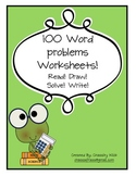 100 pages of Math word problems!