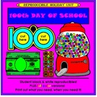 100th Day Activities - 100 Days of School!