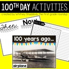 100th Day First Grade Activities