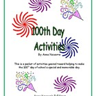 100th Day Fun Activity Set