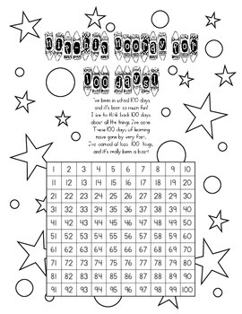 100th Day & 120th Day Number Scavenger Hunt