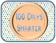 100th Day Smartie Photo Booth Props