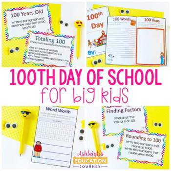 100th Day for Big Kids