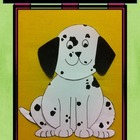 100th Day of School Dalmatian Craftivity