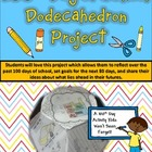 100th Day of School Dodecahedron Project Kit
