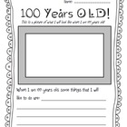 100th Day of School Items and Activities