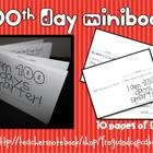 100th Day of School Minibook