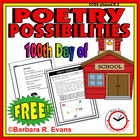 100th Day of School Poetry Possibilities
