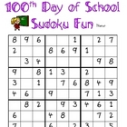 100th Day of School Sudoku Fun (Elementary)