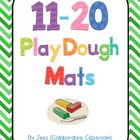 11 - 20 Playdough Mats
