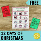 12 Days of Christmas Activity Pack Freebie