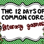 12 Days of Common Core Christmas Literacy